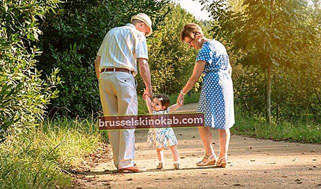 Mor-och farföräldrar är kärlekar bortom livet
