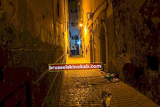 Mysterium på den mörkaste gatan i världen