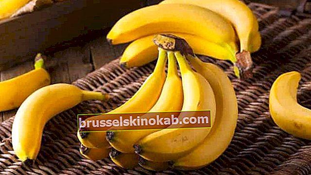 Hur man använder bananskal och sparar