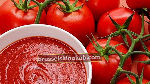 Se hvordan du lager naturlig og sunn hjemmelaget tomatsaus