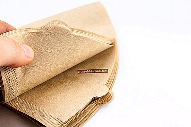 Kaffefilter: upptäck 10 kreativa användningsområden