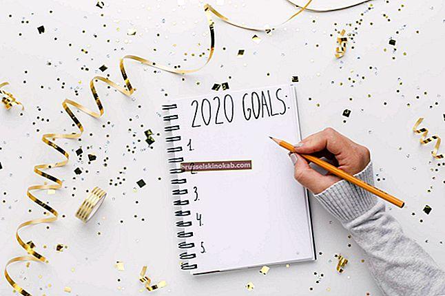 20 nytårsforsæt om at ændre liv i 2020