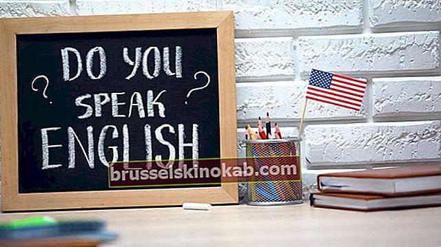 Tjek 20 falske kognater på engelsk