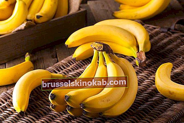 Fördelar med bananer: känn fruktens egenskaper