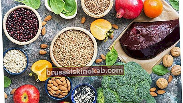 Järnrika livsmedel som du inte får missa på ditt bord