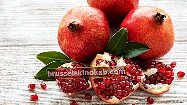 5 fordele ved granatæble og hvordan man tilbereder lækker frugtsaft
