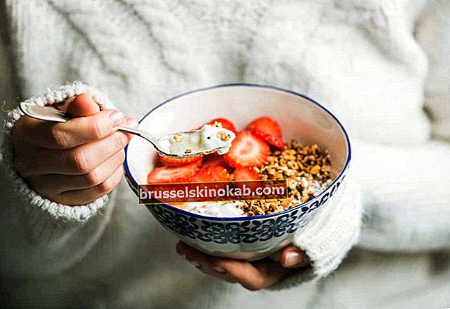 5 matvarer for å bekjempe utseendet på tidlige rynker