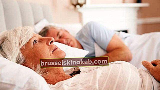 Kan äldre som lider av sömnlöshet ta sömntabletter?