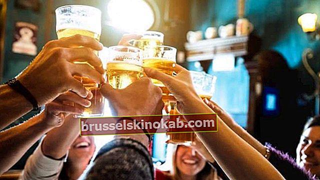 Alkoholhaltiga drycker: hur mycket kan anses vara för mycket?