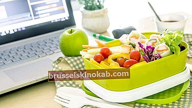 7 tips för hälsosam kost på jobbet