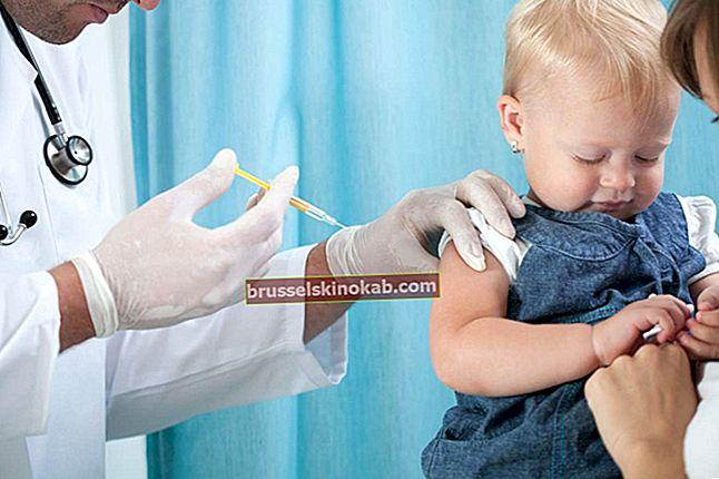 Barnvaccination: lära känna hälsovårdsministeriets kalender