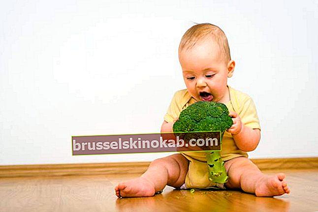 BLW-metod: lära dig att tillämpa den i spädbarns dietintroduktion