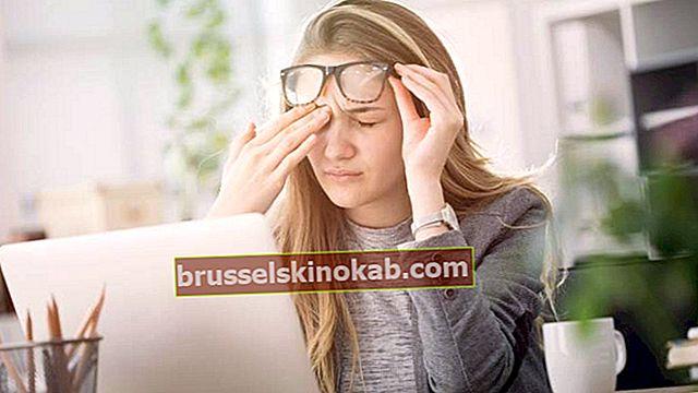 Enkla knep för att lindra trötta ögon