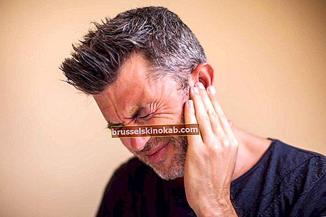 Øresmerter: vet mulige årsaker og vet hvordan du skal lindre