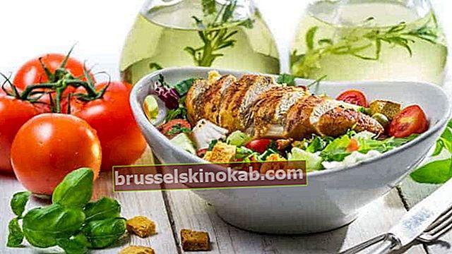 5 tips för att sätta in hälsosamt kött i sallader