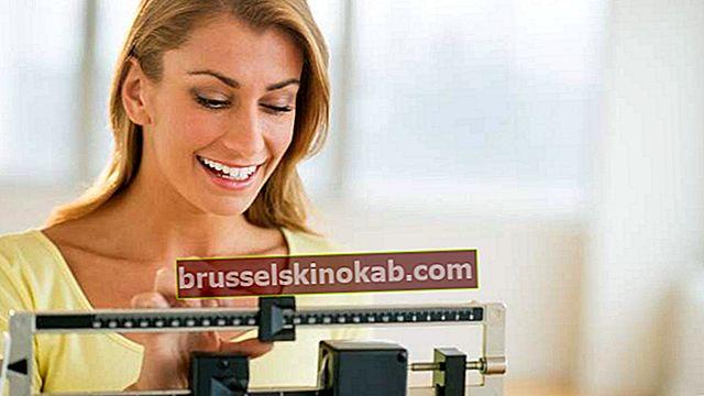 8 forskjellige typer dietter for å gå ned i vekt sunt