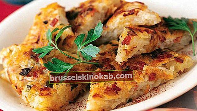Rosti-potatis med bacon: lär dig receptet i 6 enkla steg