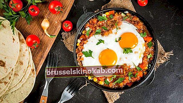 ביצים מקסיקניות ואפשרויות אחרות לארוחת בוקר בינלאומית