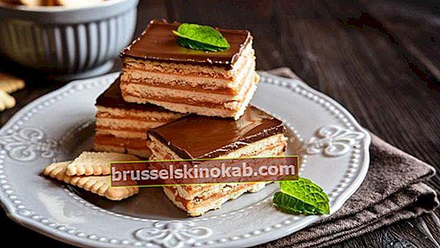 Hurtig og lækker: enkel opskrift med chokolade bane