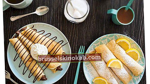 7 lækre crepesopskrifter til madlavning i dag