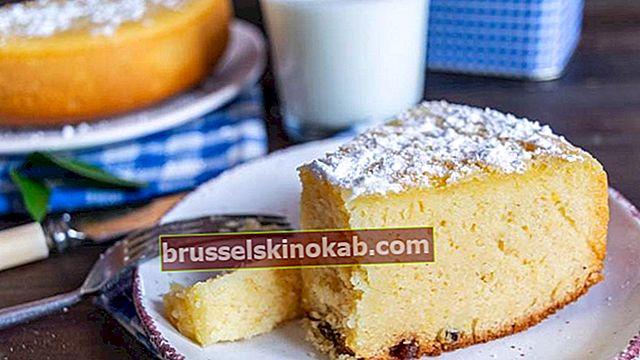 Fluffy kake: sjekk tipsene om hvordan du lager