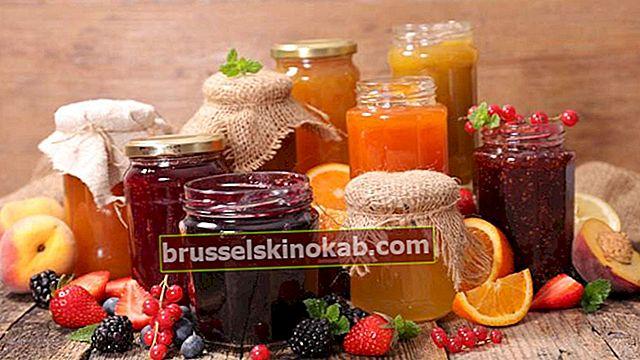 Lær hvordan man laver hjemmelavet jordbærsyltetøj og andre frugter