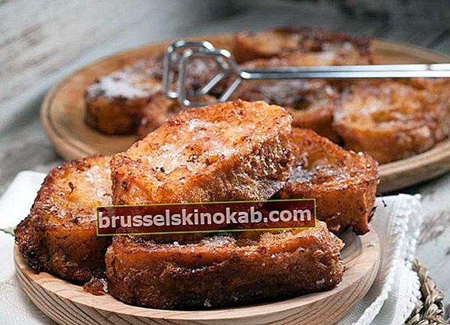 7 fransk toast som du aldrig har sett (eller smakat)!