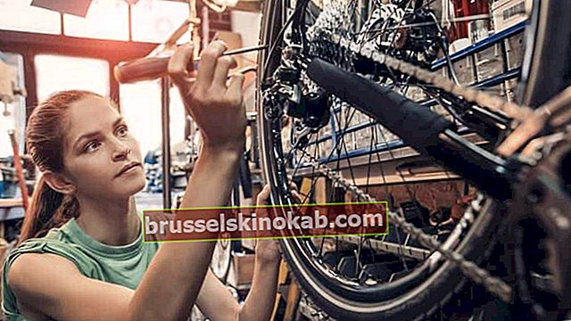 Cykelreparation: förstå hur du kan göra det själv
