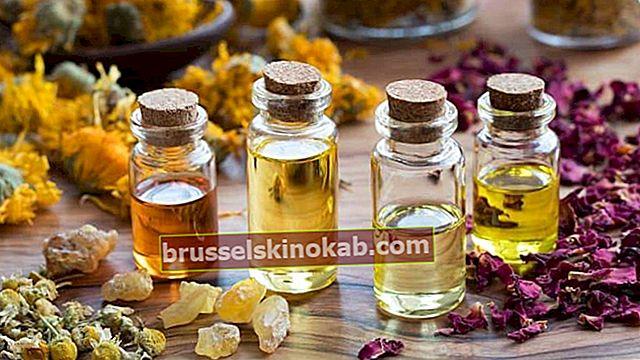 20 eteriska oljor och deras läkande funktioner
