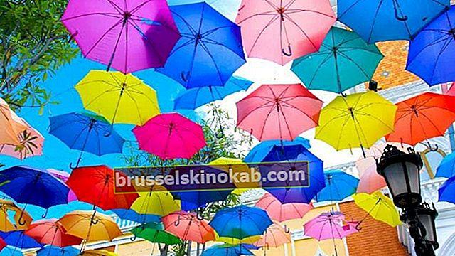 Paraply: 7 flere anvendelser, som du ikke kendte