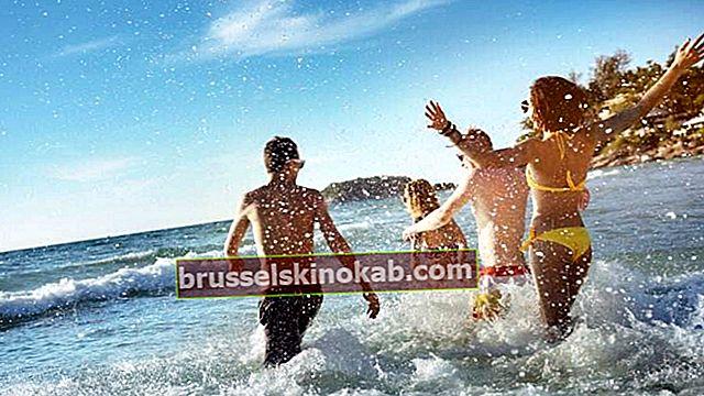 5 tip til at nyde stranden på en god og stressfri måde